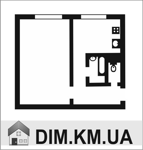 Продаж   Квартири - Хмельницький,  Виставка,  Свободи (СВ) Цiна: 328 000грн. 12 414 $11 020 €(за курсом НБУ) Кількість кімнат:  1 Площа:  36/17/13 кв.м. - Квартири на DIM.KM.UA