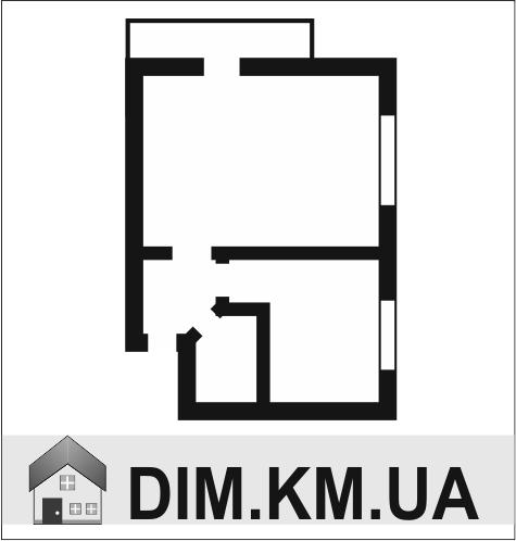 Продаж | Квартири - Хмельницький,  Подольская Цiна: 484 000грн. торг17 625 $14 296 €(за курсом НБУ) Кількість кімнат:  1 Площа:  30/18/6 кв.м. - Квартири на DIM.KM.UA