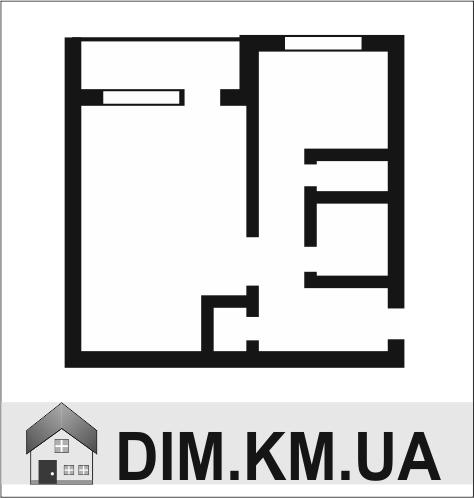 Продаж | Квартири - Хмельницький,  Зарічанська Цiна: 395 000грн. торг14 133 $12 439 €(за курсом НБУ) Кількість кімнат:  1 Площа:  32/16/7 кв.м. - Квартири на DIM.KM.UA