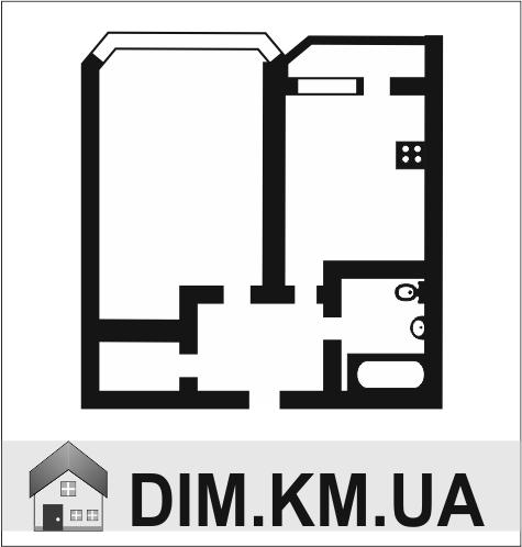 Продаж | Квартири - Хмельницький,  Південно-Захід,  Сковороди Цiна: 312 000грн. торг11 652 $10 358 €(за курсом НБУ) Кількість кімнат:  1 Площа:  30 кв.м. - Квартири на DIM.KM.UA