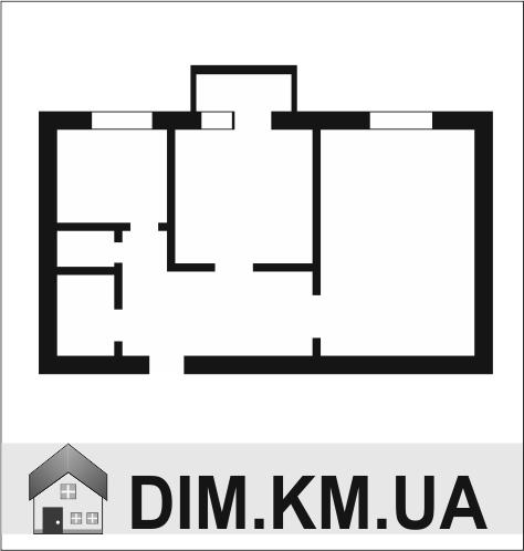 Продаж | Квартири - Хмельницький,  Центр,  Подільська вул. Цiна: 530 000грн. 19 300 $15 654 €(за курсом НБУ) Кількість кімнат:  2 Площа:  50/31/8 кв.м. - Квартири на DIM.KM.UA