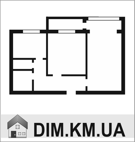 Продаж | Квартири - Хмельницький,  Гречани ближні,  Курчатова (аптека) Цiна: 450 000грн. 17 099 $14 409 €(за курсом НБУ) Кількість кімнат:  2 Площа:  54/28/8 кв.м. - Квартири на DIM.KM.UA