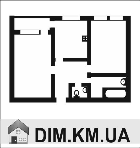 Оренда   Квартири - Хмельницький,  Виставка Цiна: 4 000грн. 150 $128 €(за курсом НБУ) Кількість кімнат:  2 Площа:  50/35/15 кв.м. - Квартири на DIM.KM.UA