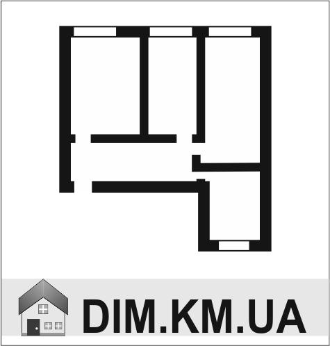 Продаж | Квартири - Хмельницький,  Озерна,  Кармелюка Цiна: 383 000грн. 14 304 $12 715 €(за курсом НБУ) Кількість кімнат:  2 Площа:  59/23/14 кв.м. - Квартири на DIM.KM.UA