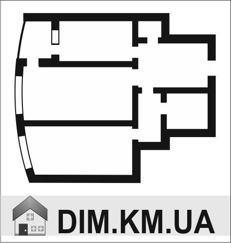 Продаж | Квартири - Хмельницький,  Озерна (озеро) Цiна: 624 000грн. торг23 875 $20 526 €(за курсом НБУ) Кількість кімнат:  2 Площа:  69/49/14 кв.м. - Квартири на DIM.KM.UA