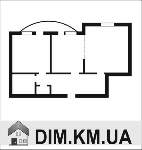 Продаж | Квартири - Хмельницький,  Зарічанська Цiна: 875 000грн. торг32 454 $28 716 €(за курсом НБУ) Кількість кімнат:  2 Площа:  88/37/12 кв.м. - Квартири на DIM.KM.UA