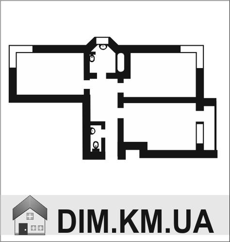 Продаж | Квартири - Хмельницький,  Озерна Цiна: 545 000грн. 20 810 $17 331 €(за курсом НБУ) Кількість кімнат:  2 Площа:  71 кв.м. - Квартири на DIM.KM.UA