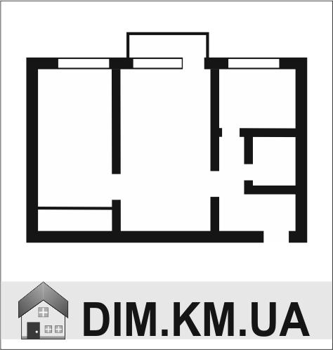 Продаж | Квартири - Хмельницький,  Вайсера Цiна: 384 000грн. 14 243 $12 602 €(за курсом НБУ) Кількість кімнат:  2 Площа:  46/32/7 кв.м. - Квартири на DIM.KM.UA