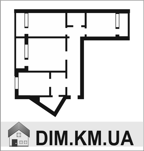 Продаж | Квартири - Хмельницький,  Залізняка Цiна: 430 000грн. торг16 419 $13 674 €(за курсом НБУ) Кількість кімнат:  3 Площа:  75 кв.м. - Квартири на DIM.KM.UA