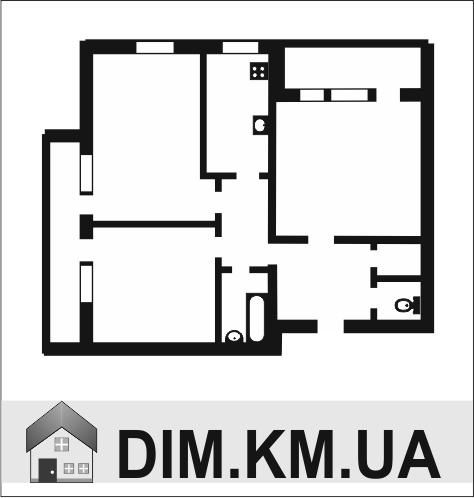 Продаж | Квартири - Хмельницький,  Раково Цiна: 1 123 000грн. торг42 968 $36 939 €(за курсом НБУ) Кількість кімнат:  3 Площа:  80/72/- кв.м. - Квартири на DIM.KM.UA