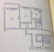 Продаж | Квартири - Хмельницький,  Рибалка Цiна: 468 000грн. торг16 745 $14 738 €(за курсом НБУ) Кількість кімнат:  2 Площа:  48/28/8 кв.м. - Квартири на DIM.KM.UA