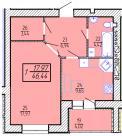 Продаж   Квартири - Хмельницький,  Виставка Цiна: 6 300грн.(за кв. м.) торг236 $201 €(за курсом НБУ) Кількість кімнат:  1 Площа:  46/18/10 кв.м. - Квартири на DIM.KM.UA