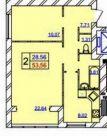 Продаж | Квартири - Хмельницький,  Красовоського вул. Цiна: 280 000грн. 10 018 $8 817 €(за курсом НБУ) Кількість кімнат:  1 Площа:  40 кв.м. - Квартири на DIM.KM.UA