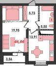 Продаж | Квартири - Хмельницький,  Озерна,  Термінво Цiна: 7 400грн.(за кв. м.) 273 $250 €(за курсом НБУ) Кількість кімнат:  1 Площа:  46.86/-/13.91 кв.м. - Квартири на DIM.KM.UA