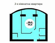 Продаж | Квартири - Хмельницький,  Південно-Захід,  Терміново Цiна: 621 000грн. 23 380 $21 391 €(за курсом НБУ) Кількість кімнат:  2 Площа:  58.3 кв.м. - Квартири на DIM.KM.UA