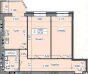 Продаж | Квартири - Хмельницький,  Електроніка Цiна: 436 800грн.  (торг, обмін)17 136 $14 596 €(за курсом НБУ) Кількість кімнат:  2 Площа:  67/35/14 кв.м. - Квартири на DIM.KM.UA