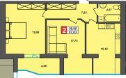 Продаж | Квартири - Хмельницький,  Центр Цiна: 10 200грн.(за кв. м.)  (торг, обмін)381 $339 €(за курсом НБУ) Кількість кімнат:  2 Площа:  67 кв.м. - Квартири на DIM.KM.UA