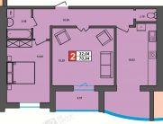 Продаж | Квартири - Хмельницький,  Центр Цiна: 10 500грн.(за кв. м.) 392 $349 €(за курсом НБУ) Кількість кімнат:  2 Площа:  64/34/14 кв.м. - Квартири на DIM.KM.UA